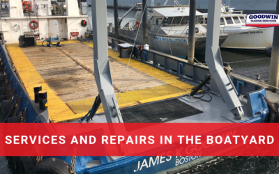 Services and Repairs in the Boatyard