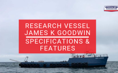Research Vessel James K Goodwin Specifications & Features