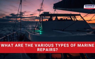 What Are The Various Types Of Marine Repairs?
