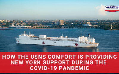 How the USNS Comfort is Providing New York Support During the COVID-19 Pandemic