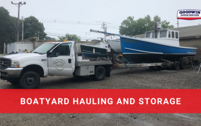 Boatyard Hauling and Storage