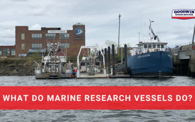 What Do Marine Research Vessels Do?