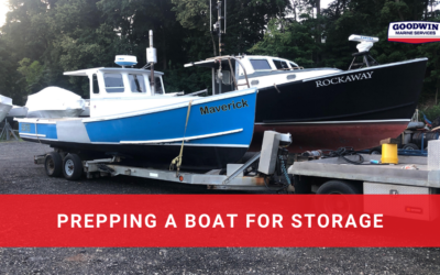 Prepping a Boat for Storage