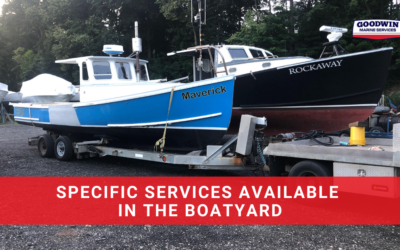 Specific Services Available in the Boatyard
